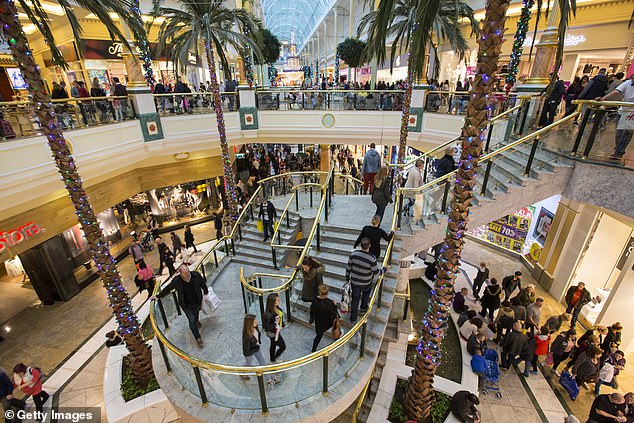 Intu, which owns Manchester's Trafford Centre (pictured), plans to tap investors for cash