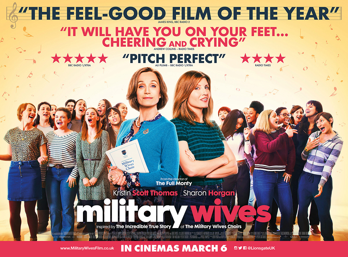 Sun Savers is giving away 2,350 pairs of tickets to see the new film Military Wives