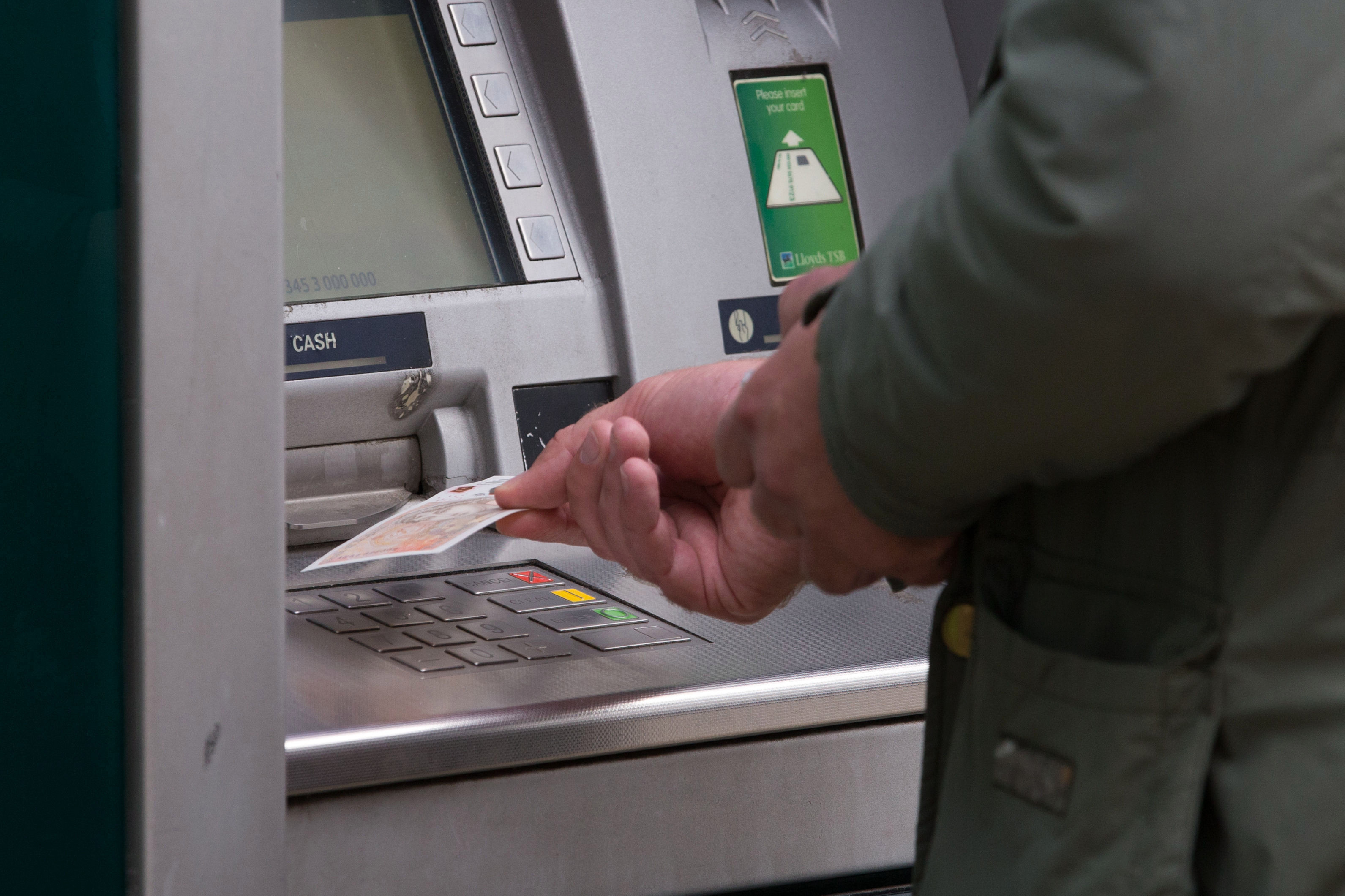 Free cash machines are becoming more sparse in rural communities
