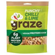 Get an 118g bag of Graze Punchy Protein Nuts for £1.50 at Sainsbury's