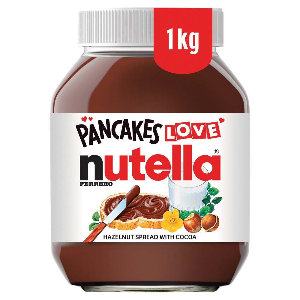 Get a 1kg jar of Nutella for just £3.50 at Morrisons