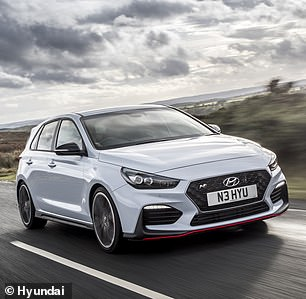 Even Hyundai's first attempt at a full-blooded hot hatch, the i30N Performance, is more potent with 267bhp