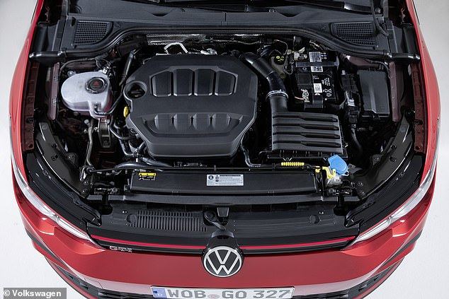 The latest VW Golf GTI, which was officially unveiled last night, is powered by a 2.0-litre, four-cylinder, turbocharged injection petrol powerplant
