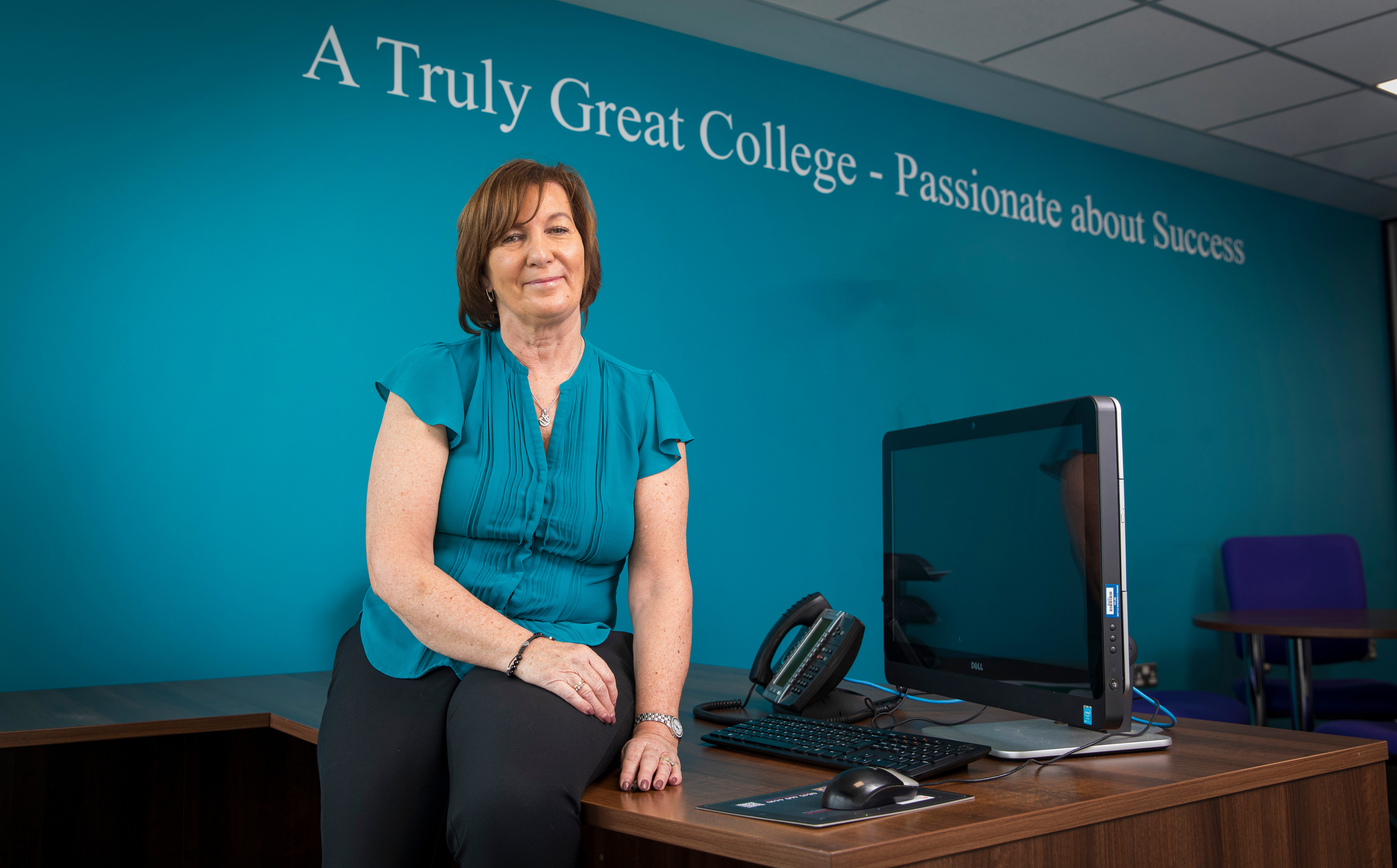 Careers adviser Julie Maling helps candidates find their strengths and interests