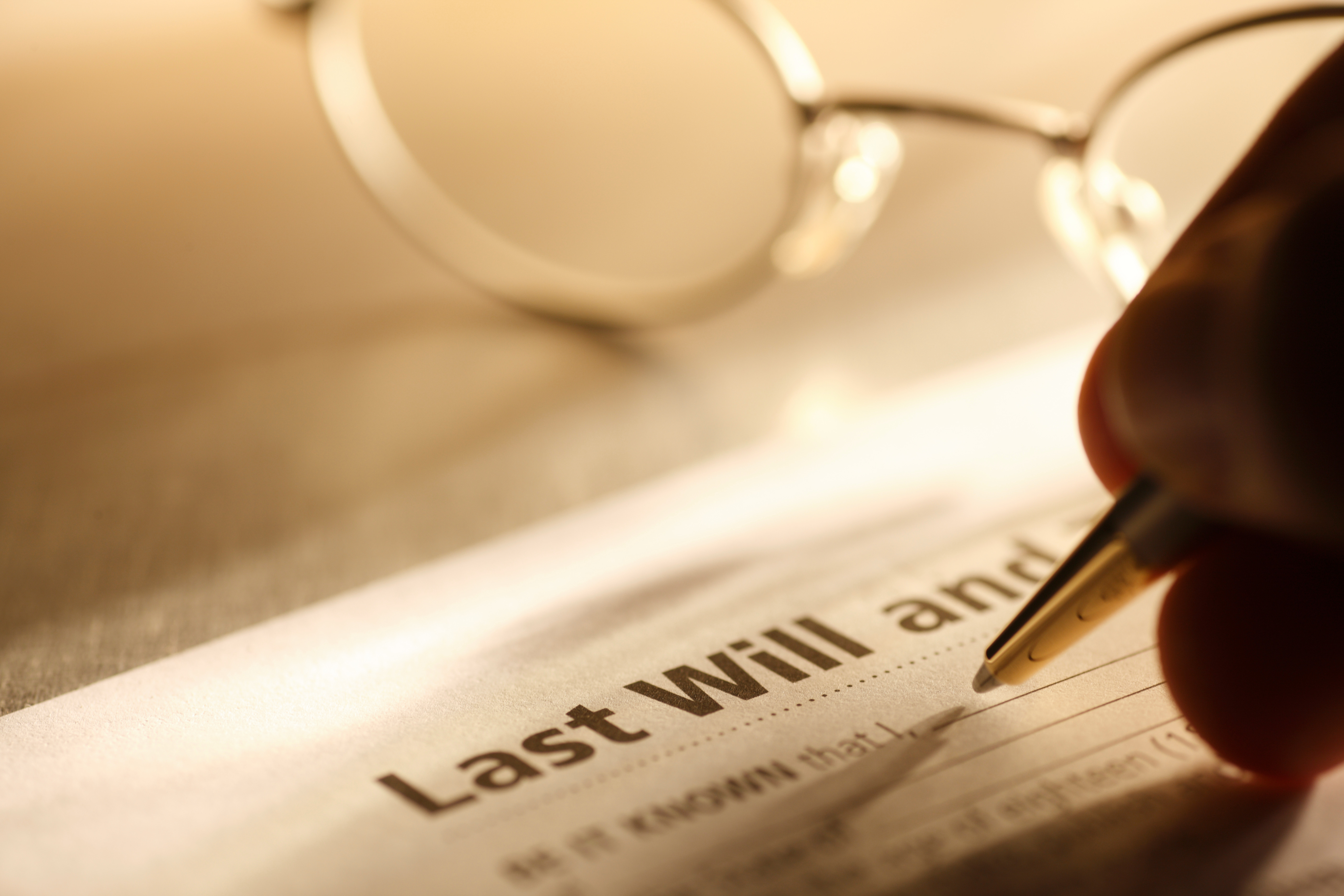 Wills are hugely important, as without them your estate could pass to the wrong person