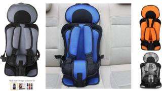 Four of the suspect car seats