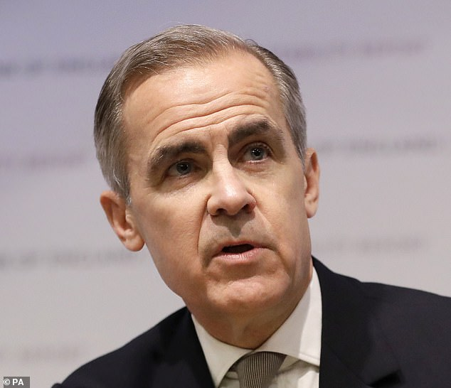 Quiz:Conservative MP Mel Stride, who is chair-elect of Parliament's Treasury committee, said he would call in Mark Carney (pictured)