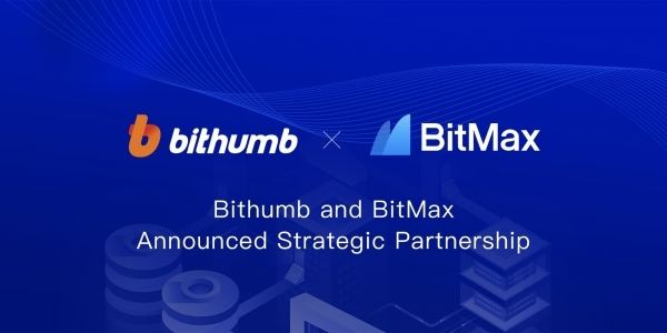 Bithumb forged a strategic partnership with BitMax, a Singaporean exchange.