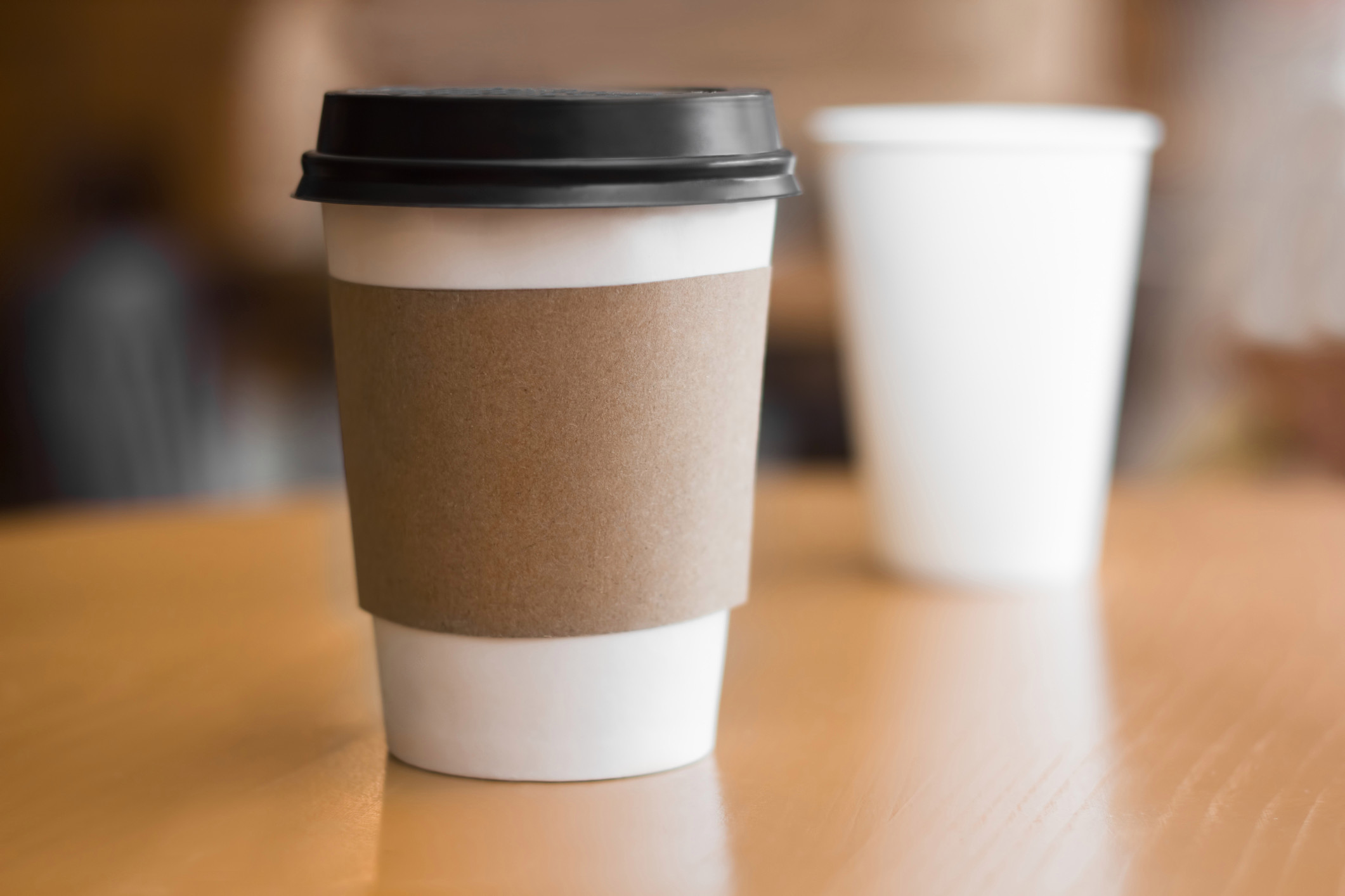 Food and drink chains have been accused of eco-hypocrisy for not allowing paper cups to be reused
