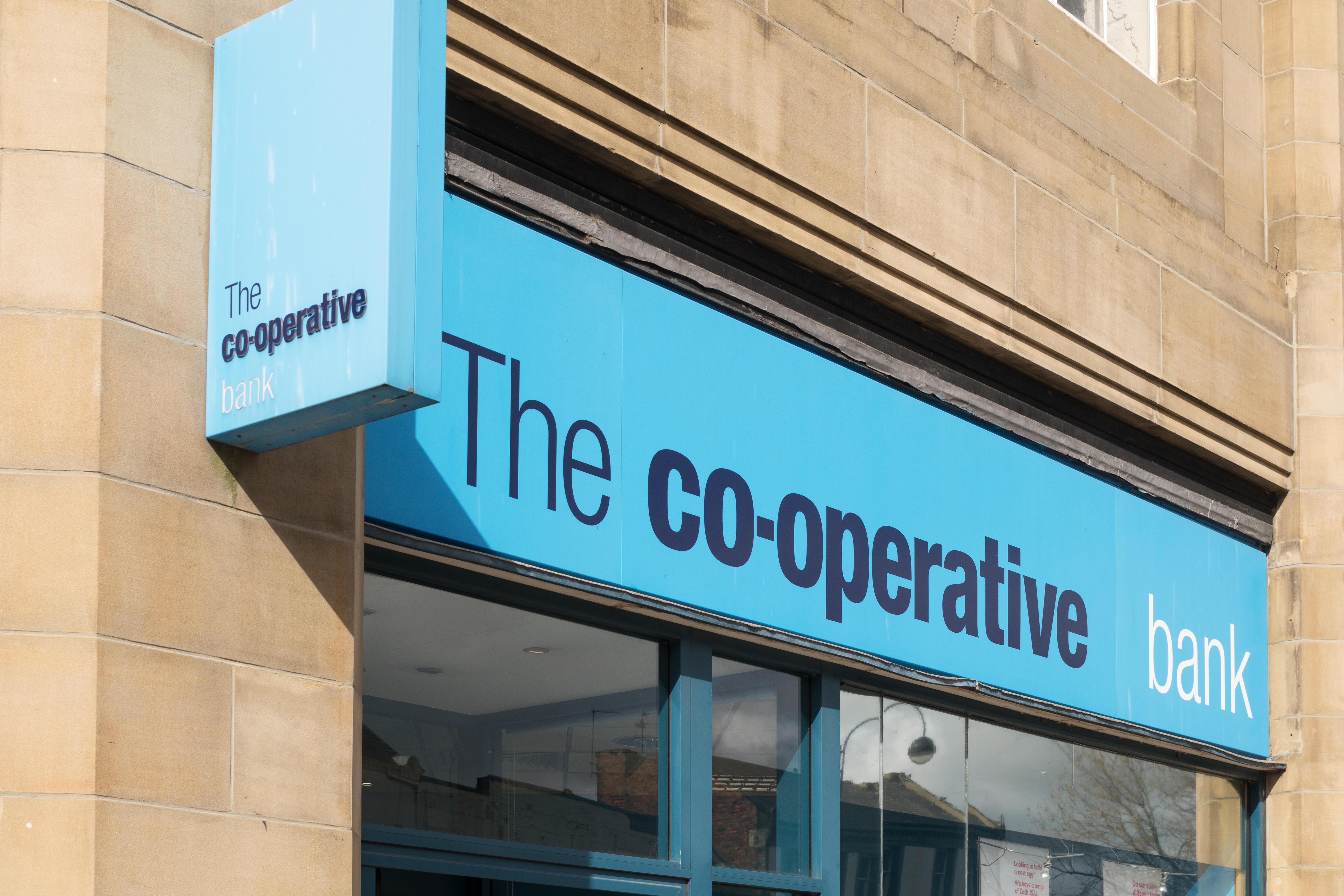 The Co-operative Bank's app and website is down leaving customers unable to access their accounts