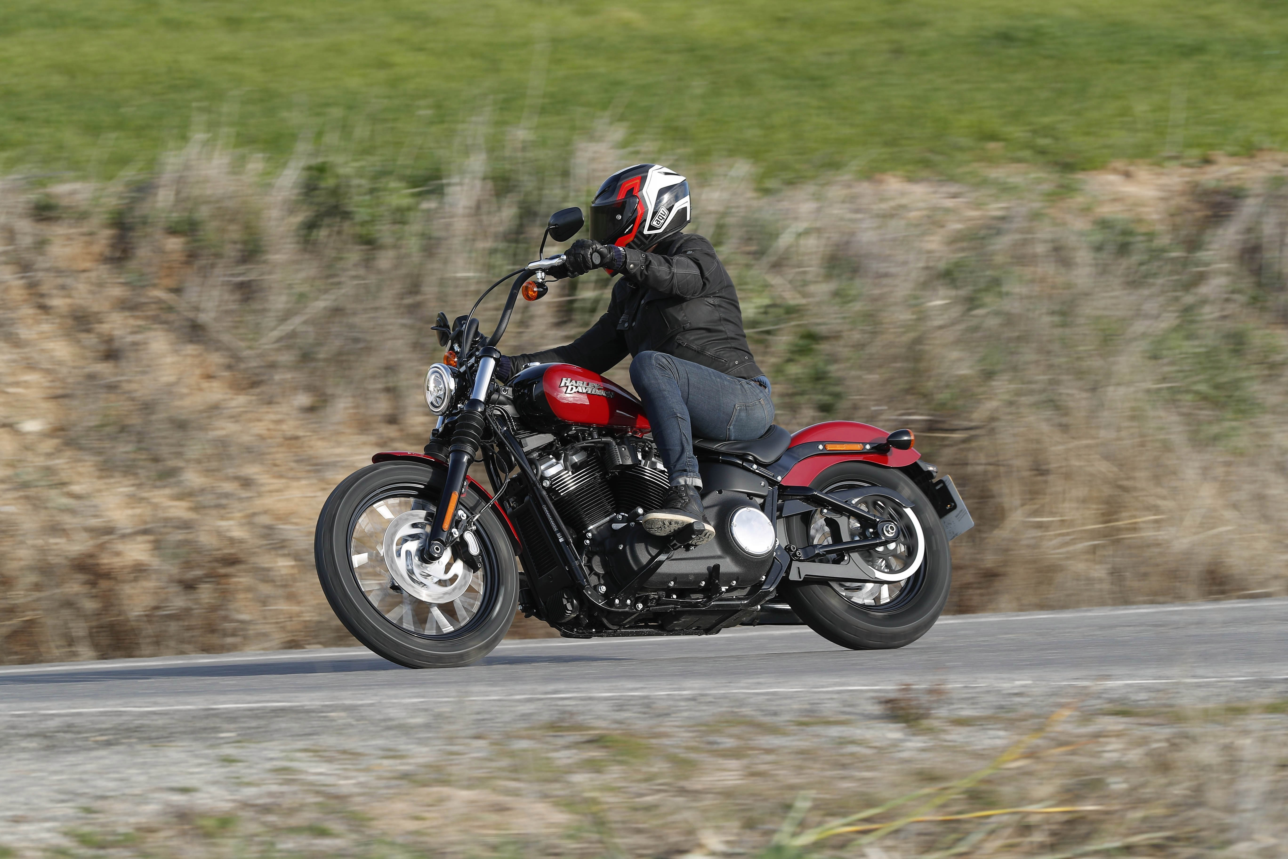 The new Harley-Davidson Street Bob is practical and you don't need to rob a bank to own one