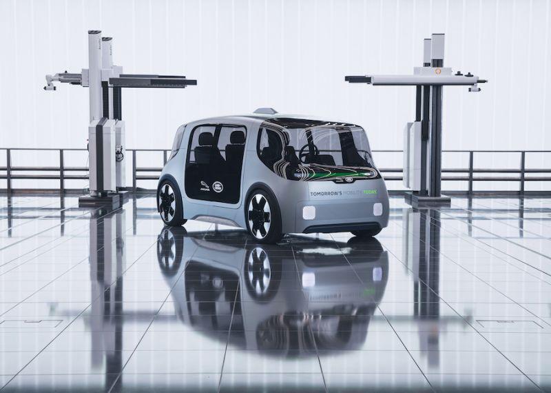 Jaguar Land Rover Unveils Autonomous and Electric 'Project Vector' Shuttle Concept