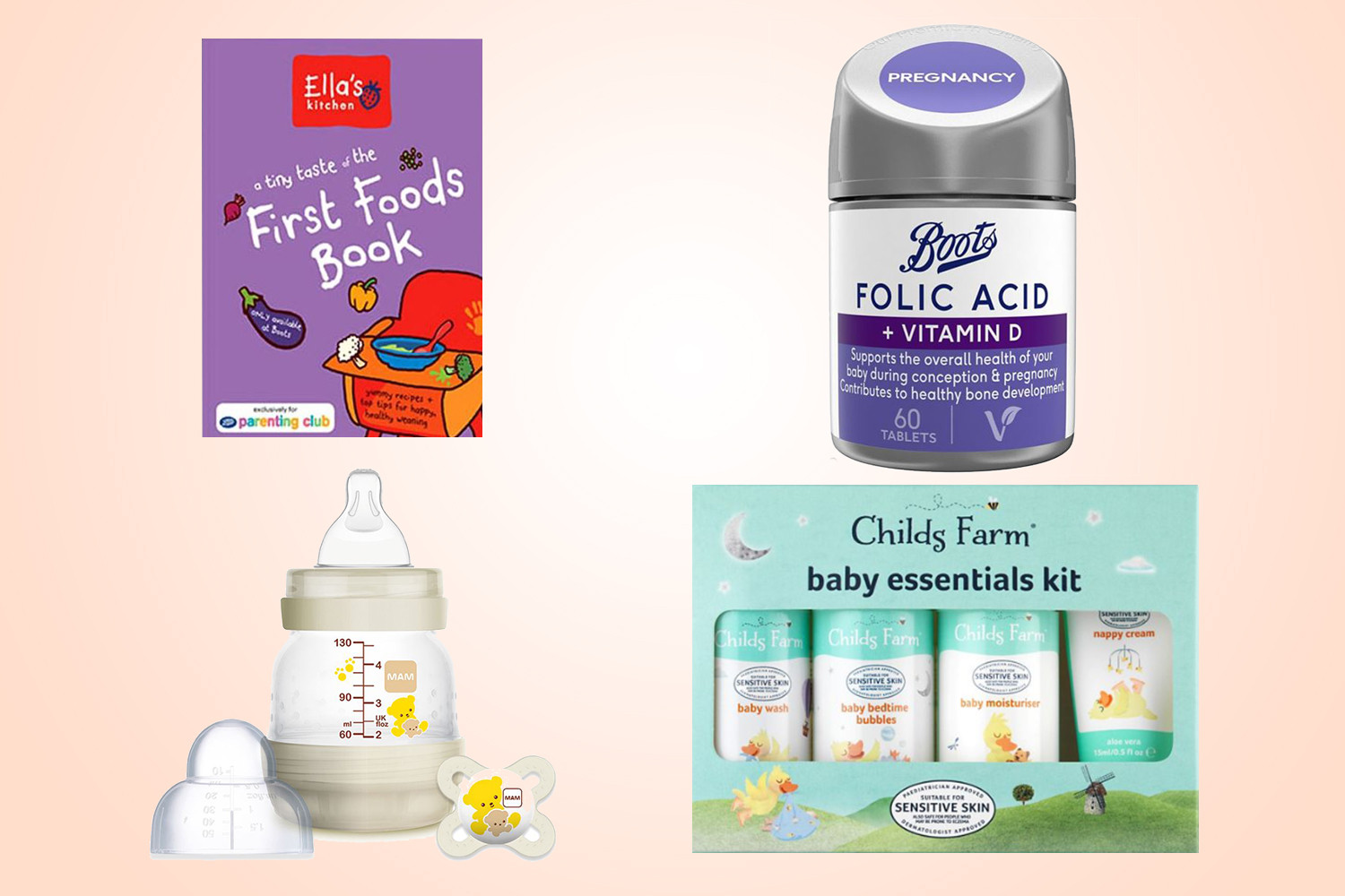 Parents can currently nab one or a few of these baby products for free by signing up to the Boots Parenting Club