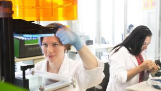 Sonova plant making hearing aids