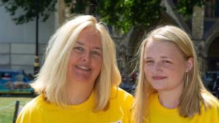 Sharon Cranfield and 19-year-old daughter Jessica